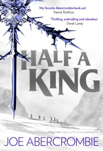 Joe Abercrombie: Half A King Cover der UK-Ausgabe