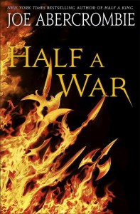 Joe Sbercrombie: Half a War US-Hardcoverausgabe Del Rey (Juli 2015)