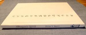 In weißes Leder gebundene signierte Ausgabe von Bryan's Gold