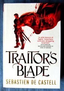 Sebastien de Castell Traitor's Blade Englischer Hardcover (2014)