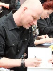Kai Meyer auf der Buchmesse in Leipzig 2014, Autor von Nachtland