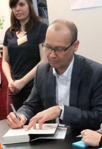 Simon Beckett auf der Leipziger Buchmesse 2014