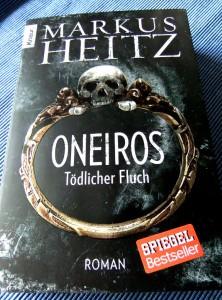 Markus Heitz: Oneiros. Tödlicher Fluch Knaur verlag (2012)