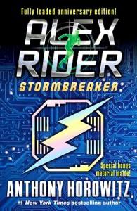 Anthony Horowitz: Stormbreaker Anniversary Edition (eines von vielen Covern)