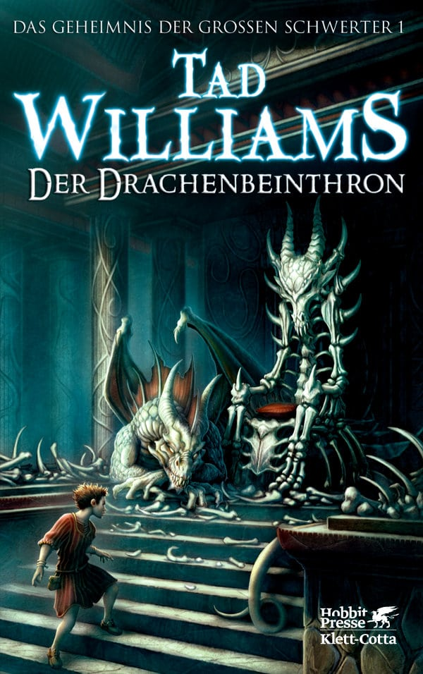 Tad Williams: Der Drachenbeinthron (c) Verlag Klett-Cotta