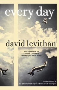 David Levithan: Every Day US-Hardcover und TB (2012)