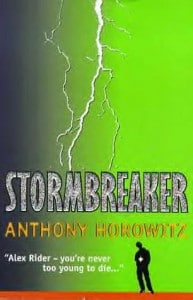 Anthony Horowitz: Stormbreaker Cover der englischen Erstausgabe von 2000