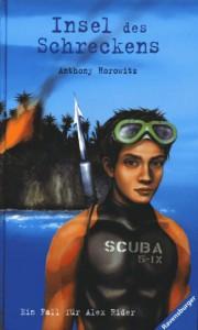 Anthony Horowitz: Insel des Schreckens Dt. Ausgabe (Titel bis 2004)