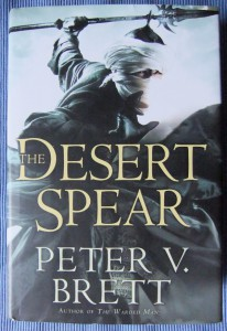 Peter V. Brett: The Desert Spear Engl. Hardcoverausgabe