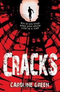 Caroline Green: Cracks Englische Taschenbuchausgabe Piccadilly Press (2012)