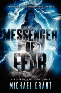 Michael Grant: Messenger of Fear US-Cover ET: August/September 2014