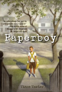 Vince Vawter: Paperboy US-Hardcover Delacorte Press (2013)