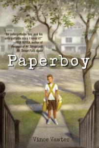 Vince Vawter: Paperboy US-Hardcover Delacorte Press (2013)