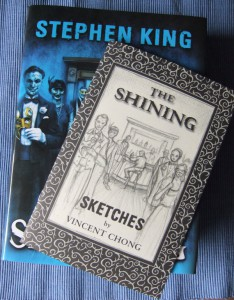 "Stephen King: The Shining mit limitiertem ""Chap Book"" (Sketches) von Vincent Chong"