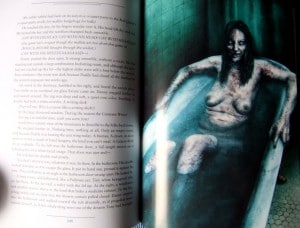 Stephen King: The Shining Illustration von Vincent Chong Tote Frau in der Badewanne