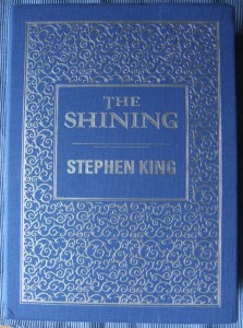 Stephen King: The Shining Vorderseite des Schubers Subterranean Press (2014)