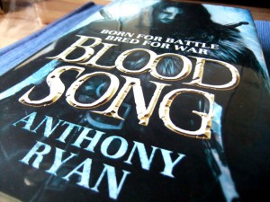 Anthony Ryan: Blood Song UK-Hardcover ACE (2013)