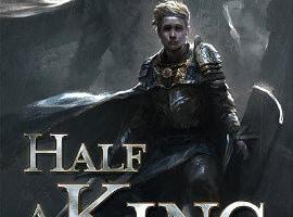 Joe Abercrombie: Half a King (US-Ausgabe) und Poster
