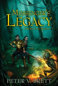 Peter V. Brett: Messenger's Legacy Limited Edition Cover Subterranean Press (2014)