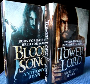 Anthony Ryan: The Raven's Shadow Book 1: Blood Song Book 2: Tower Lord