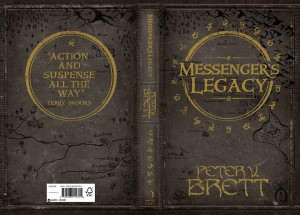Peter V. Brett: Messenger's Legacy UK-Hardcover Voyager (2014)