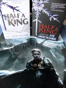 Joe Abercrombie: Half a King UK-Hardcover (links) und US-Hardcover (rechts)