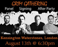Dark Fantasy – Das Grim-Gathering-Autorentreffen 2014 in London