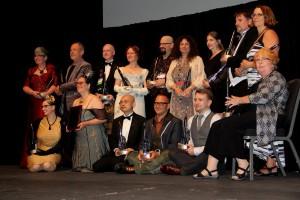 Die HUGO-Preisträger 2014 nach der Verleihung
