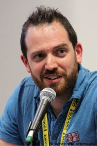 Joe Abercrombie Fotografiert am LONCON 3, London, August 2014