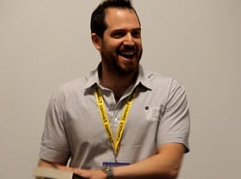 "Joe Abercrombie liest am LONCON aus ""Half The World"""