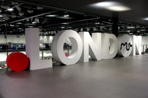Ein Teil der Eingangshalle zum LONCON