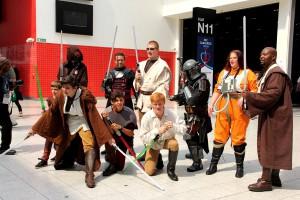 Jedi-Ritter, Rebellen und Kopfgeldjäger auf dem LONCON