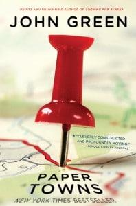 John Green: Paper Towns Englische Taschenbuchausgabe Speak Verlag (2009)