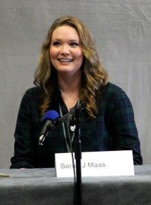 Sarah J. Maas auf dem LONCON 3 August 2014