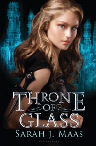Sarah J. Maas: Throne of Glass Engl. Hardcoverausgabe Bloomsbury (2012)
