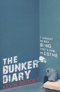 Kevin Brooks: The Bunker Diary UK-Taschenbuchausgabe Penguin Books (2013)
