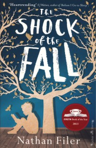 Nathan Filer: The Shock of the Fall UK-Taschenbuch Borough Press (2013)