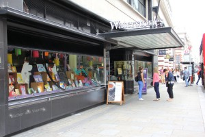 Waterstones am Piccadilly Circus in London