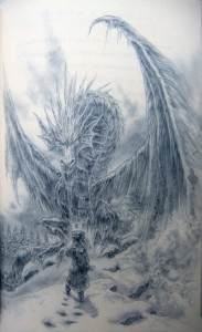 George R. R. Martin: The Ice Dragon Künstler: Luis Royo TOR Verlag (2014)