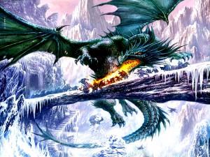 Quelle: Animaatjes.de, Über die Drachen