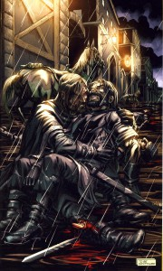 "George R. R. Martin: A Game of Thrones (Graphic Novel) Künstler: Tommy Patterson ""Jorys Tod"""