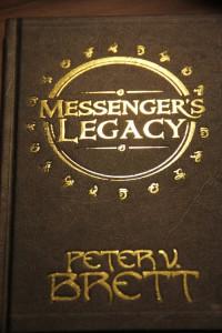 Peter V. Brett: Messenger's Legacy UK - Hardcover Harper Voyager (2014)