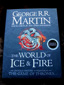 George R. R. Martin: The World of Ice and Fire Bildband (HC) Harper Voyager (2014)