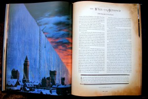 George R. R. Martin: The World of Ice and Fire Auszug: The Wall (c) Harper Voyager (2014)