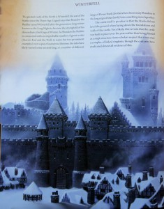 George R. R. Martin: The World of Ice and Fire Auszug: Winterfell (c) Harper Voyager (2014)
