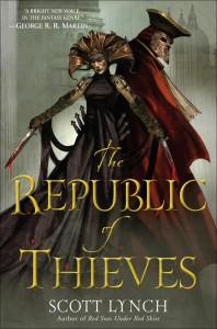 Scott Lynch: The Republic of Thieves Englische Taschenbuchausgabe Del Ray Verlag (2014)