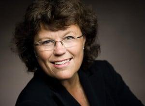 Krimiautorin Anne Holt (Fotograf: Jo Michael), Autorin von Schattenkind