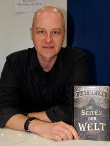 """Kai Meyer auf der Leipziger Buchmesse 2015, Autor von """"Die Seiten der Welt"""""""
