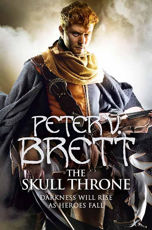 Peter V. Brett: The Skull Throne UK-Hardcoverausgabe Harper Collins (2015)