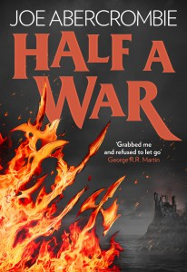 Joe Abercrombie: Half a War UK-Hardcover Harper Voyager (2015)